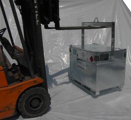 Forwarderbügel - Hebebügel für Kubicus Transportbehälter – Bild 3