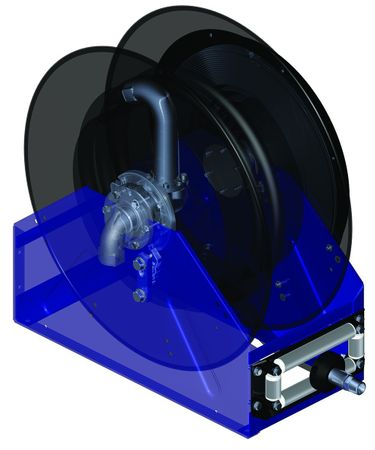 """Graco XD40 automatischer Schlauchaufroller Heavy Duty, Farbe blau/schwarz für Öle & Diesel, geeignet für bis zu 30m 1/2"""" , 30m 3/4"""" Schlauch oder 15m 1"""" Schlauch – Bild 2"""
