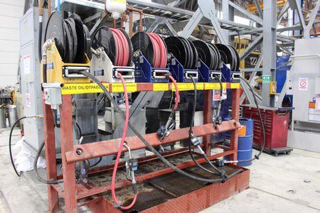 """Graco XD50 automatischer Schlauchaufroller Heavy Duty für Diesel Kraftstoff geeignet für bis zu 30m 1"""" Schlauch – Bild 8"""