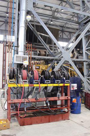 """Graco XD50 automatischer Schlauchaufroller Heavy Duty für Diesel Kraftstoff geeignet für bis zu 15m 1 1/4"""" Schlauch – Bild 3"""