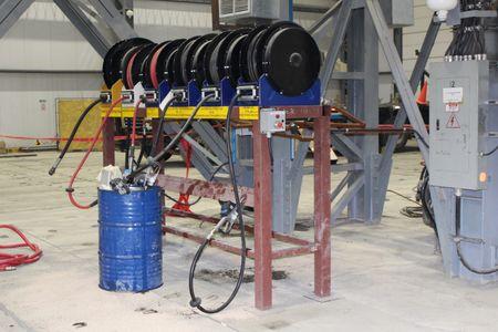 """Graco XD40 automatischer Schlauchaufroller Heavy Duty für Öle & Diesel, geeignet für bis zu 23m 3/4"""" DN19 Schlauch oder 15m 1"""" DN25 – Bild 8"""