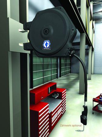 """Geschlossener Schlauchaufroller von Graco® Serie LD für Öl, Schlauchlänge 11m 1/2"""" Schlauch, ohne Zubehör  – Bild 2"""