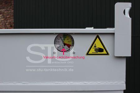 Kubicus 2000 doppelwandiger Lager und Transportbehälter, Kraftstoffcontainer, mobile Dieseltankstelle mit ca. 2000 Liter Volumen, innen u. außen feuerverzinkt – Bild 3