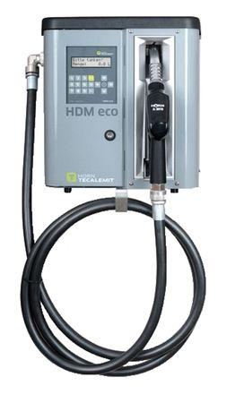 Horn Tecalemit Dieselpumpe HDM 80 eco Box Kleinzapfsäule mit Tankdatenerfassung für 2000 Nutzer, Förderleistung max. 75 l/min. 4m Abgabeschlauch, Automatische Zapfpistole mit Bauartzulassung Elektrischer Anschluss 230V