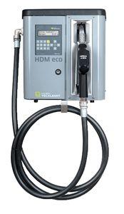Horn Tecalemit Dieselpumpe HDM 80 eco Box Kleinzapfsäule mit Tankdatenerfassung für 2000 Nutzer, Förderleistung max. 75 l/min. 4m Abgabeschlauch, Automatische Zapfpistole mit Bauartzulassung Elektrischer Anschluss 230V 001