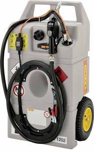 CEMO Dieseltrolley 100 Liter Inhalt, mit Elektropumpe Centry SP30 12V, 3m Schlauch, autom. Zapfpistole 001