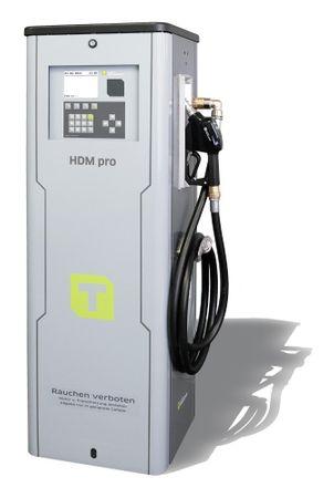 Diesel Zapfsäule HDM080 Pro mit Tankautomat HDA2, nicht eichfähig, max. 2000 Benutzer, inkl PC Software HD Manager eco, Transponderleser, USB Schnittstelle, Anschlussspannung 400V, inkl. 4m Zapfschlauch DN 25 und autom. Zapfpistole
