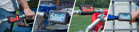 """Fill-Rite TT10AB Turbinenzählwerk aus Aluminium mit ATEX ex Zulassung geeignet für Benzin Jet-A1 und Diesel. Anschlüsse 1"""" IG BSPP. 18 Werkseinstellungen zur schnellen und genauen Anpassung an das Fördermedium – Bild 3"""