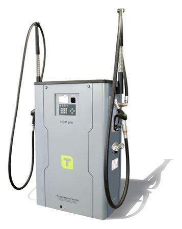 Diesel Zapfsäule HDM150/50 Pro mit Tankautomat HDA2, nicht eichfähig, max. 2000 Benutzer, inkl PC Software HD Manager eco, Transponderleser, USB Schnittstelle, Anschlussspannung 400V, inkl. 4m Zapfschlauch und autom. Zapfpistole