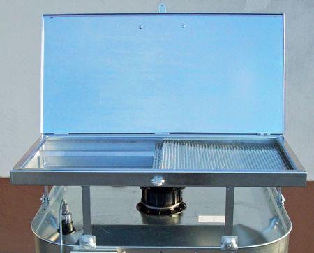 Altöl-Einfülltrichter, Altöltrichter für VET Behälter