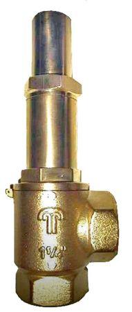 """1 1/2"""" Hebereckventil mit Druckentlastung, einstellbar für Tankgrößen von 1,5-3,0m, geeignet für Heizöl, Diesel, Biodiesel, Pflanzenöl."""