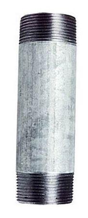 "Tempergussfitting: Rohrnippel verzinkt, 3/4"", Länge 80mm"