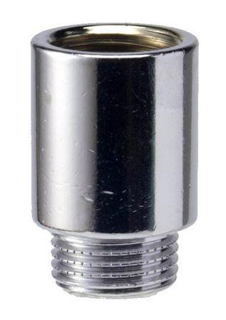 """Verlängerungsstück verchromte Ausführung 1"""" IG/AG x 25mm"""