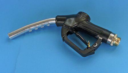 """Generalüberholte automatische Zapfpistole für Dieselkraftstoff, Modell Elaflex ZVA Slimline Kurzrohr, Handgriff 1.0, Drehgelenk 1"""" AG, Dieses Zapfventil wurde von 1978 bis 09/2009 gefertigt (Ausführung mit anderen Handgriffen auf Anfrage) – Bild 1"""