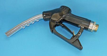 """Generalüberholte automatische Zapfpistole für Dieselkraftstoff, Modell Elaflex ZVA Slimline Kurzrohr, Handgriff 2.0, Drehgelenk 1"""" AG, Dieses Zapfventil wurde von 1978 bis 09/2009 gefertigt (Ausführung mit anderen Handgriffen auf Anfrage) – Bild 1"""