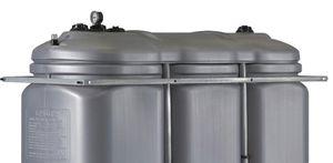 Armaturenkonsole für SB2000-HDPE aus verzinktem Stahlblech, horizontal den Behälter umlaufend 001