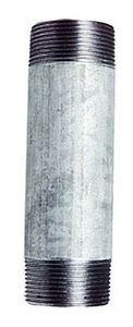 "Tempergussfitting: Rohrnippel verzinkt, 1"", Länge 80mm 001"