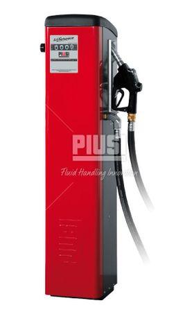 Self-Service 100 K44 Dieselzapfsäule nicht eichfähig, mit mechanischem Zählwerk, 230V Pumpe 90l/min., 4m Schlauch, autom. Zapfpitole mit Bauartzulassung, Abm.: 1387 x 457 c 360 mm (HxBxT)