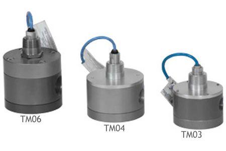 """Ovalradzähler TM04: Gehäuse aus andosiertem Aluminium, Low-Viscosity Ovalräder, 1/2"""" BSP IG, Hall-Effekt-Sensor, 4 Magnete je Ovalrad, ca. 750 ppl, max. 100 bar, Genauigkeit ±0,25%, 3,7 - 37 l/min"""