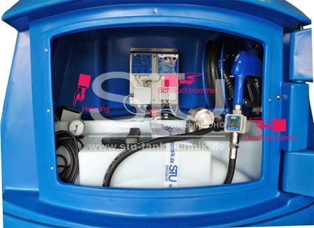 Aufpreis: Heizung mitThermostat 230V, 475 W für BlueMaster® light 1300 und 2500