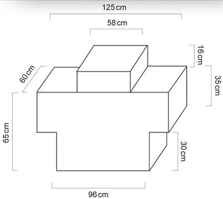 Dieselbox 450 einwandiger Tank aus lackiertem Stahlblech für den Transport auf Pick-Ups und Pritschenfahrzeugen gem. ADR 1.1.3.1c für den unmittelbaren Verbrauch (Handwerkgerregel), ink. 12V Dieselpumpe, 4m Zapfschlauch, autom. Zapfpistole – Bild 5