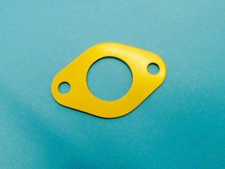 """Elaflex PD40 Oval-Flanschdichtung DN40 - 1 1/2"""" IG aus NBR gelb, Bohrung 11,5mm,  Bohrungsabstand 82mm"""
