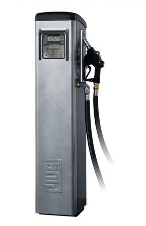 Piusi Self-Service 100 MC F Dieselzapfsäule nicht eichfähig, mit Tankdatenerfassung, 230V Pumpe 90l/min., 4m Schlauch, autom. Zapfpitole, Abm.: 1478 x 488 x 400 mm (HxBxT) – Bild 1