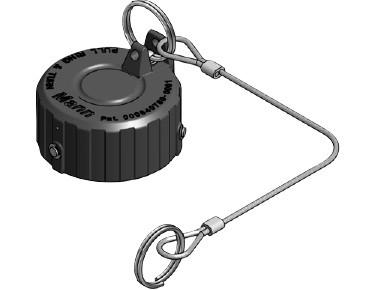 "DDC-K2"" PE Blindkappe passend zu DDC-V 2"" Trockenkupplung - Vaterteil"