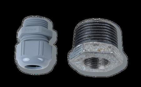 """Montageset 1"""" für Horn Tecalemit Standard Füllstandssonde, Pegelsonde passend für 1"""" IG Verschraubung auf Tankdeckel Domdeckel, nicht für den Ex-Bereich"""