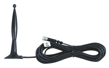 Externe Antenne für Horn Tecalemit LevelController, abgesetzte Antenne mit Magnetfuß, Kabellänge ca. 3,00 m für schwierige Einbausituation.