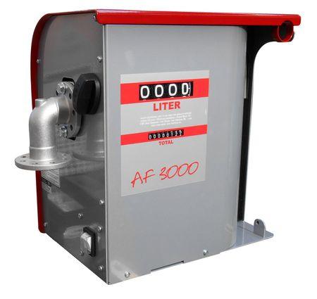 230V Pumpe max.60 l/min, 4-stelliges Zählwerk rückstellbar, wetterbeständiges Metallgehäuse 4m Abgabeschlauch, automatische Zapfpistole mit Bauartzulassung. – Bild 3