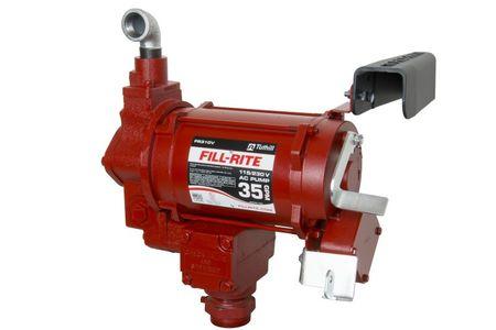Fill-Rite 230V Pumpe FR310VEMN,  ATEX-Zulassung, Förderleistung max 121 l/min. ohne Netzkabel, Stecker, Schlauch und Zapfpistole.