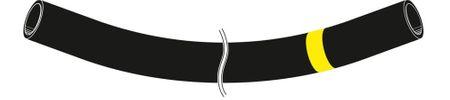 TW32 Schlauch mit abknickfester Stahlwendel. Für Mineralölprodukte aller Art. Saug- und Druckschlauch geeignet Innen: NBR, antistatisch; außen Chloroprene (CR) schwarz, leitfähig. Preis per m – Bild 2
