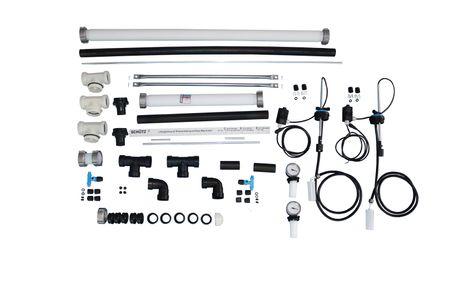 Schütz Reihenverbindungspaket CDL inkl.Überfüllsicherungssystem NIV-O-STOP für TIT-K 1000+1500l Standard