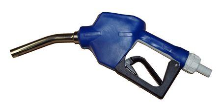Adam Pumps Automatisches Zapfventil aus Kunststoff mit Edelstahl Auslaufrohr, geeignet zum Abfüllen von AdBlue® AUS32 mit Elektropumpen aus IBC, Fässern oder fahrbaren Geräten, Schlauchanschluss DN19 – Bild 1