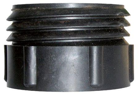 """Adapter 2"""" BSP auf """"Mauser"""" Kunststoff-Fässer mit  Grobgewindeanschluss ø 67,40mm"""