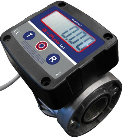 Hi Tech 60 FMS-P 230V dieselpumpenset montiert auf Stahlblechkonsole zur Wandmontage, ca. 60l/min, mit Tankdatenerfassung für 250 User, Lieferumfang: 5 Transponder, Master-Karte, autom. Zapfpistole und 4m Zapfschlauch – Bild 2