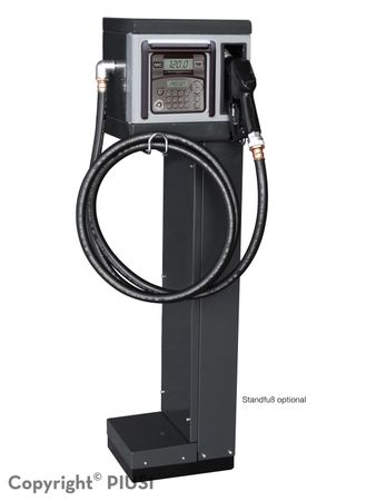 CUBE 70 MC 50 Diesel Kleinzapfsäule mit Tankdatenerfassung für 50 User, 230V Förderleistung max 70l/min, Lieferung inkl. 4m Zapfschlach und autom. Zapfpventil mit EN-Bauartzulassung – Bild 2