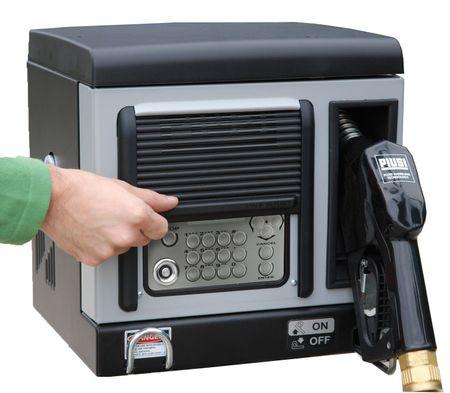 CUBE 70 MC 50 Diesel Kleinzapfsäule mit Tankdatenerfassung für 50 User, 230V Förderleistung max 70l/min, Lieferung inkl. 4m Zapfschlach und autom. Zapfpventil mit EN-Bauartzulassung – Bild 3