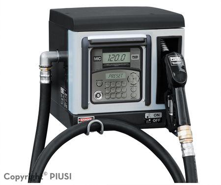CUBE 70 MC 50 Diesel Kleinzapfsäule mit Tankdatenerfassung für 50 User, 230V Förderleistung max 70l/min, Lieferung inkl. 4m Zapfschlach und autom. Zapfpventil mit EN-Bauartzulassung – Bild 1