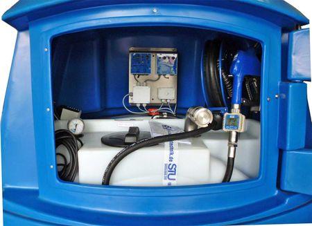 2500l Kingspan BlueMaster PRO, DiBt-Zugelassen, doppelwandige LKW Tankstelle Tankanlage für AdBlue®, Inhalt 2500l, mit Titan Access Management System, Vollausstattung mit Pumpe, Schlauchaufroller, Heizung, Tankautomat – Bild 2