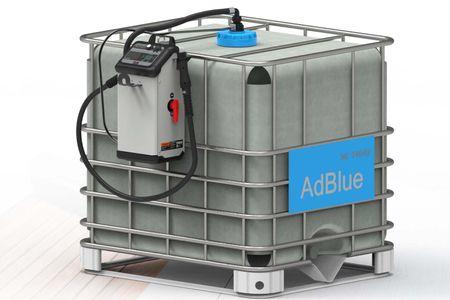 Delphin Pro IBC AdBlue® PKW Betankungsanlage für 1000 Liter IBC Gebinde. Automatische PKW Befüllung mit Gaspendel und patentiertem Sicherheitsfüllventil – Bild 1