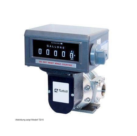 "TUTHILL TS30AV04BLCBMXAXX Ovalradzähler 76 - 760 lpm, mit Liter Register (5stellig), 3"" BSP, 10 bar, Rotor: LV-PP, Lager: Carbon, kein Pulser, Dichtungen: Viton – Bild 1"