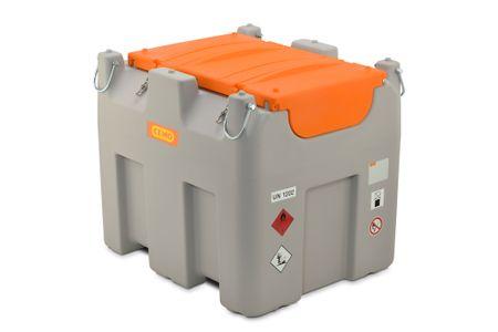 Cemo mobile Tankstelle für  Diesel +AdBlue®,  DT-Mobil Easy Combi Basic 850/100 Liter Dieselpumpe 24+12V, 12V AdBluepumpe 30l/min. 5m Zapfschlauch und automatik Zapfventil – Bild 1