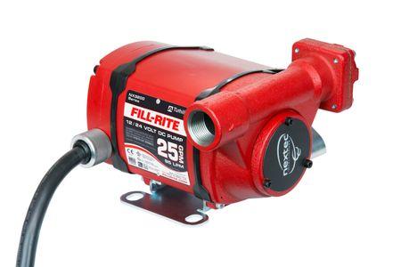 Fill-Rite Nextec 3205FE 12 - 24V Pumpe mit ATEX ex Zulassung, geeignet für Diesel, Benzin, Kerosin, Fördereistung max. 95l/min., arbeitet ohne Umschalten an Batteriespannungen von 12V bis 24 Volt, inkl. 6m abschraubbarem Batteriekabel