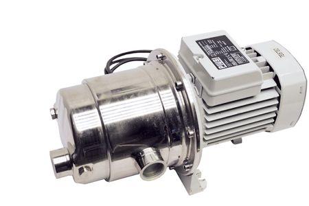 Piusi SuzzaraBlue INOX Edelstahl Kreiselpumpe für AdBlue®  - AUS32, 90° gedrehter Pumpenkopf, Kein Ein/Ausschalter, Motor 230V/50Hz - 520 Watt, Förderdruck ca. 3,5 bar, max. 40l/min. passend für ältere Kingspan Harnstoff Tankanlagen