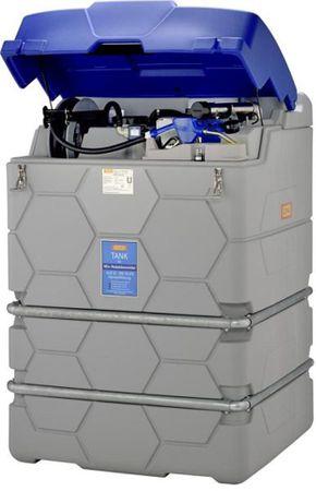 CUBE-Tank AdBlue®1500 Liter Version Outdoor Premium mit Winterpaket un Klappdeckel