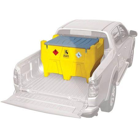 Carrytank 400l Diesel + 50l AdBlue® PickUp Tank für den Transport von Diesel und Harnstoff, mit 12V Dieselpumpe 40l/min und 12V Tauchpumpe für AdBlue® 15l/min, 2 x 4m Schlauch, autom. Zapfpistole füe Diesel, man. Zapfpistole für AdBlue® – Bild 1