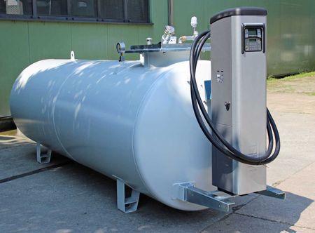 Tubicus® 5000 Doppelwandiger Lagerbehälter, Vakuum Lecküberwacht, lackiert in RAL7032 lichtgrau, 4360 x 1250 x 1700mm (LxBxH)inkl, PIUSISelfService 70 MC mit Tankdatenerfassung – Bild 2