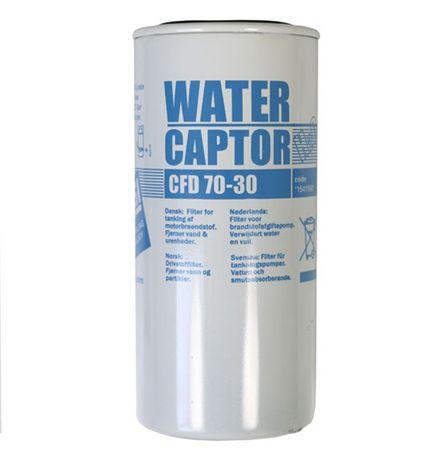 PIUSI Water Captor Filter 70l/min Ersatzfilter mit Wasserabsorber, für Piusi Zapfsäulen Modell Self Service 80, Piusi ST und Piusi ST Box. Filterkapazität 30µ, Arbeitsdruck 3,5bar, Berstdruck 10 bar.